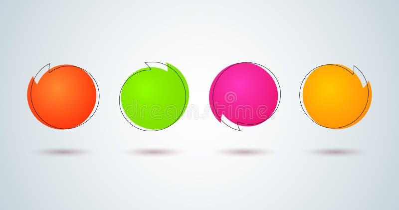 Το Promo κολλά την πώληση ετικετών τιμών φωτεινή χρωματισμένος γύρω από την αυτοκόλλητη ετικέττα εμβλημάτων στο καθορισμένο στοιχ απεικόνιση αποθεμάτων