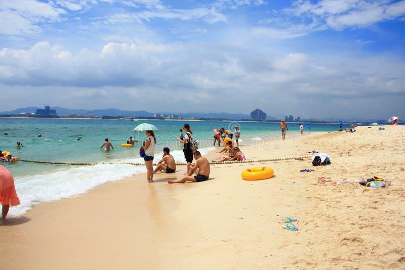 Τροπικός παράδεισος παραλιών θάλασσας στοκ εικόνες