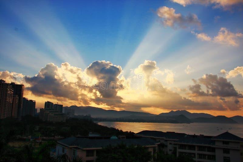 Τροπικός παράδεισος παραλιών θάλασσας στοκ εικόνες με δικαίωμα ελεύθερης χρήσης