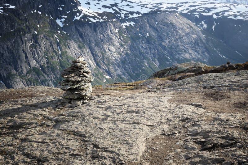 Τύμβοι ιχνών της Νορβηγίας στοκ φωτογραφίες