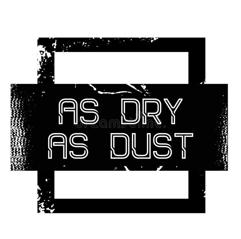 Τόσο ξηρός όσο την αυτοκόλλητη ετικέττα διαφήμισης σκόνη απεικόνιση αποθεμάτων