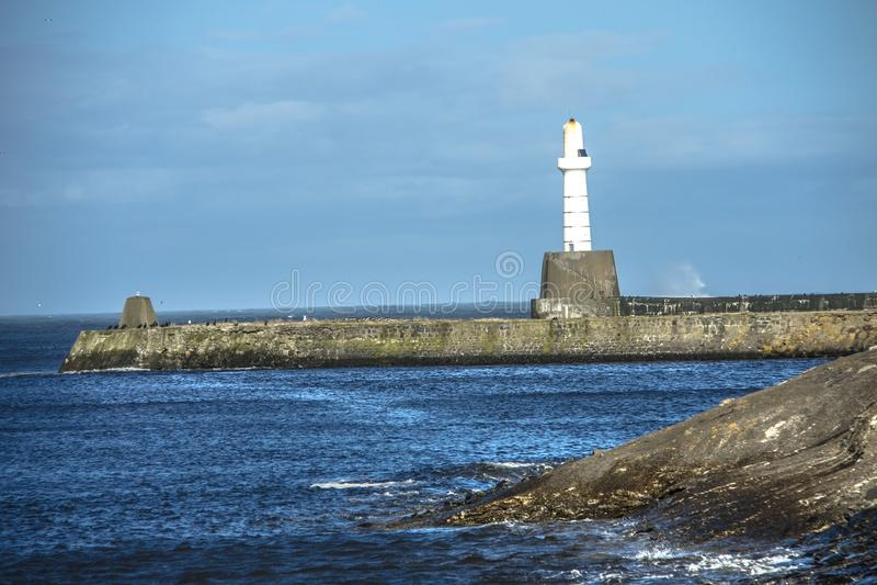 Φάρος του Αμπερντήν Σκωτία στοκ φωτογραφία με δικαίωμα ελεύθερης χρήσης