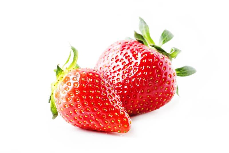 Φρέσκια κόκκινη φράουλα, άσπρο επιτραπέζιο υπόβαθρο, εκλεκτική εστίαση στοκ φωτογραφία με δικαίωμα ελεύθερης χρήσης