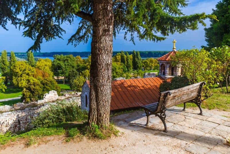 Φρούριο Kalemegdan σε Βελιγράδι - τη Σερβία στοκ εικόνα με δικαίωμα ελεύθερης χρήσης