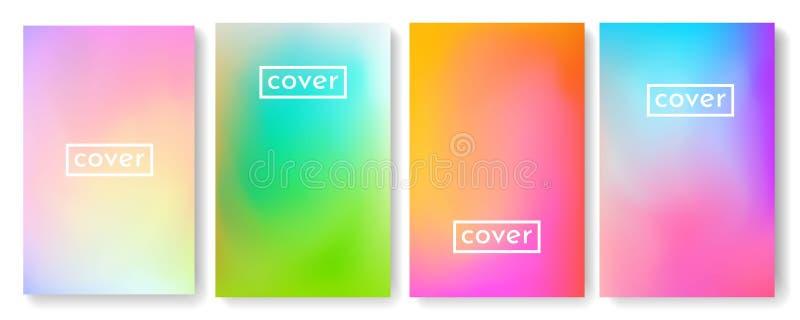 Φωτεινό υπόβαθρο χρώματος με τη σύσταση κλίσης πλέγματος για το φυλλάδιο, φυλλάδιο, ιπτάμενο, κάλυψη, κατάλογος Μπλε, ρόδινη, κίτ απεικόνιση αποθεμάτων