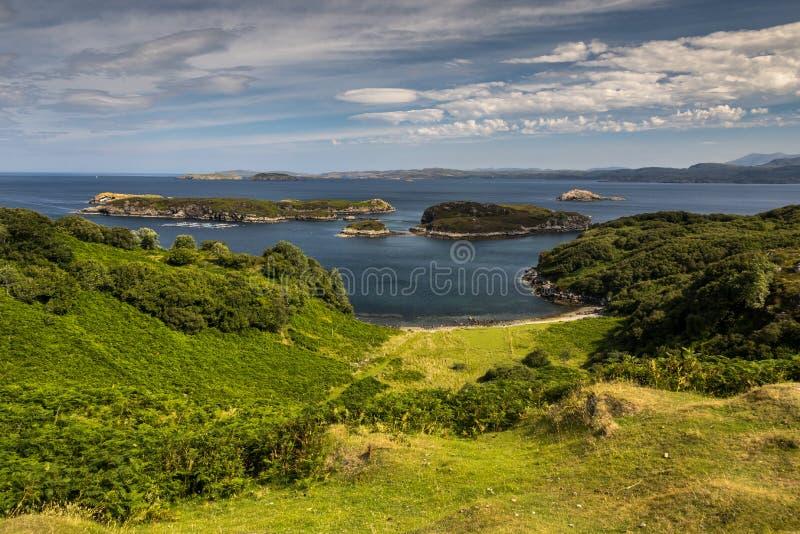 Χαρακτηριστικό τοπίο στις σκωτσέζικες ορεινές περιοχές, UK στοκ εικόνα με δικαίωμα ελεύθερης χρήσης