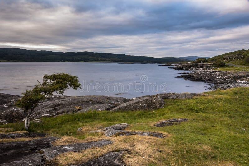 Χαρακτηριστικό landscapeof το νησί Mull, εσωτερικό Hebride στοκ φωτογραφία με δικαίωμα ελεύθερης χρήσης