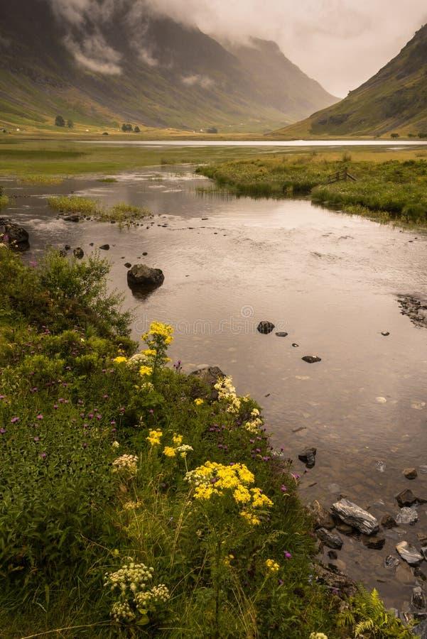 Χαρακτηριστικό landscapeof το νησί Mull, εσωτερικό Hebride στοκ φωτογραφίες