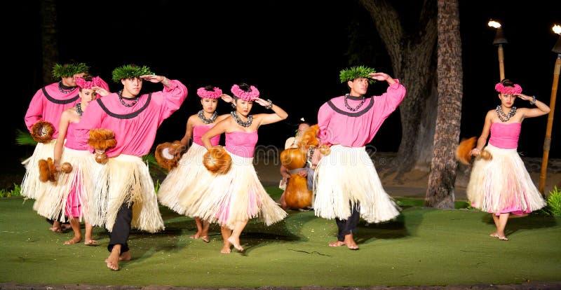 Χορευτές Hula στοκ φωτογραφίες με δικαίωμα ελεύθερης χρήσης