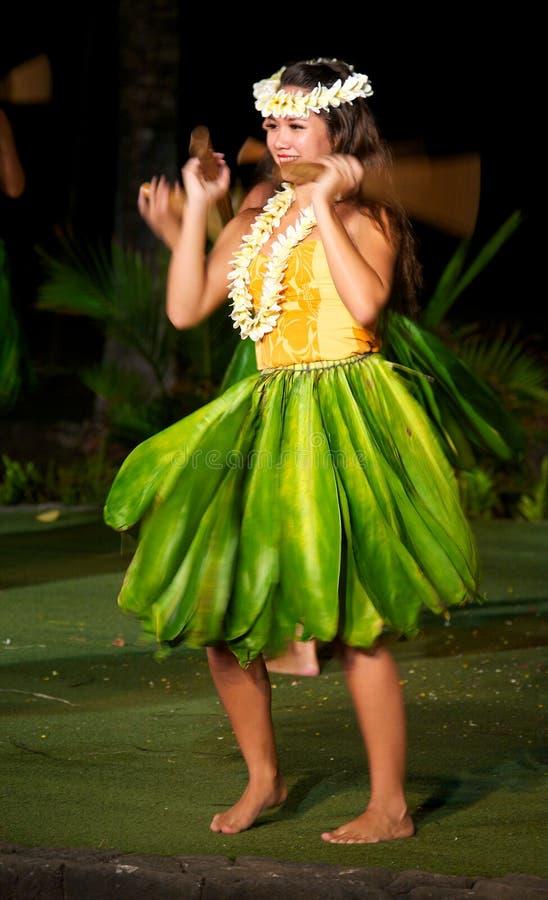 Χορευτής Hula στοκ εικόνες