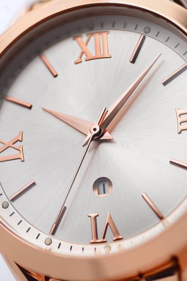 Χρυσών γυναικών wristwatches στοκ εικόνες