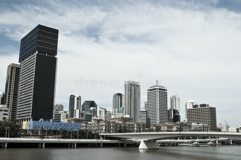 Υψηλός ορίζοντας εμπορικών κέντρων ανόδου κεντρικός, Μπρίσμπαν, Αυστραλία στοκ εικόνες με δικαίωμα ελεύθερης χρήσης