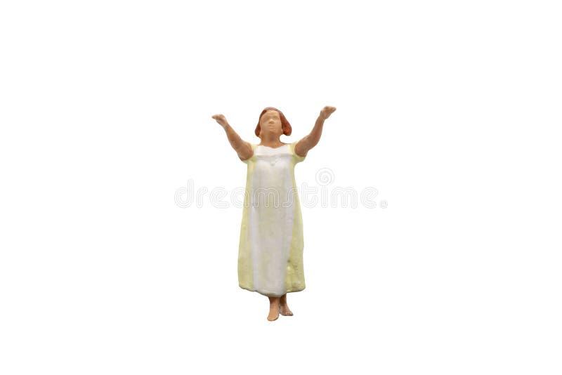 Υπνοβάτης που απομονώνεται στο άσπρο υπόβαθρο με το ψαλίδισμα της πορείας στοκ φωτογραφίες