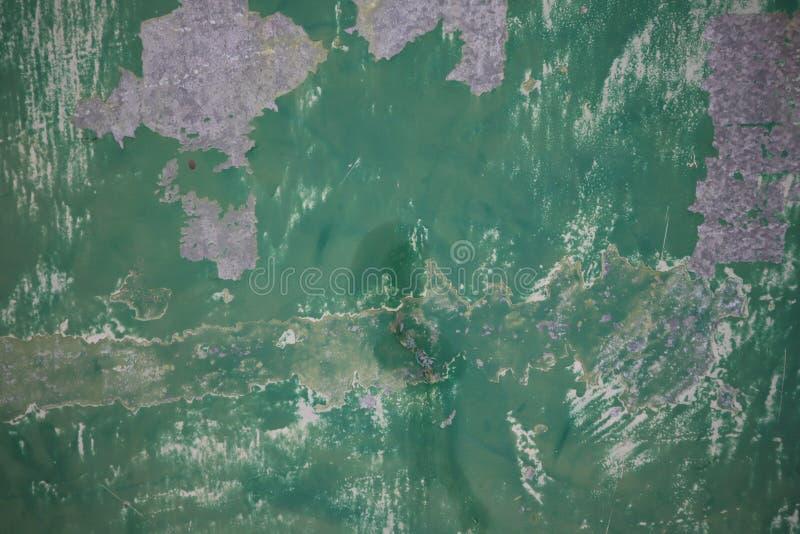 Υπόβαθρο Grunge με χρωματισμένη την περίληψη σύσταση Παλαιές εκλεκτής ποιότητας γρατσουνιές, λεκές, χρώμα splats, σημεία πράσινος στοκ φωτογραφία με δικαίωμα ελεύθερης χρήσης