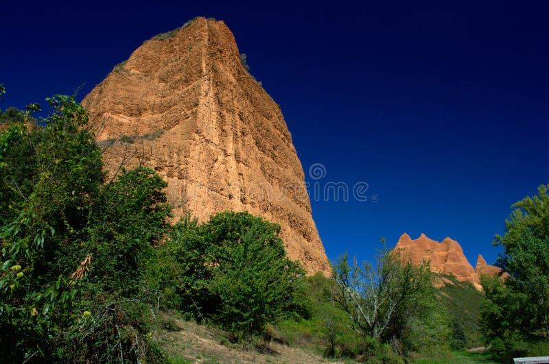 Παγκόσμια κληρονομιά της ΟΥΝΕΣΚΟ Medulas Las κοντά Ponferrada Καστίλλη και Leon Ισπανία στοκ εικόνες