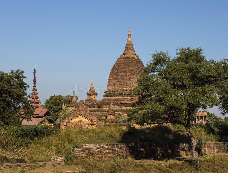 Παγόδες το πρωί, pugan, Myanmar στοκ φωτογραφίες με δικαίωμα ελεύθερης χρήσης