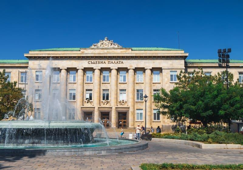 Παλάτι δικαιοσύνης στο Ruse, Βουλγαρία στοκ φωτογραφία με δικαίωμα ελεύθερης χρήσης