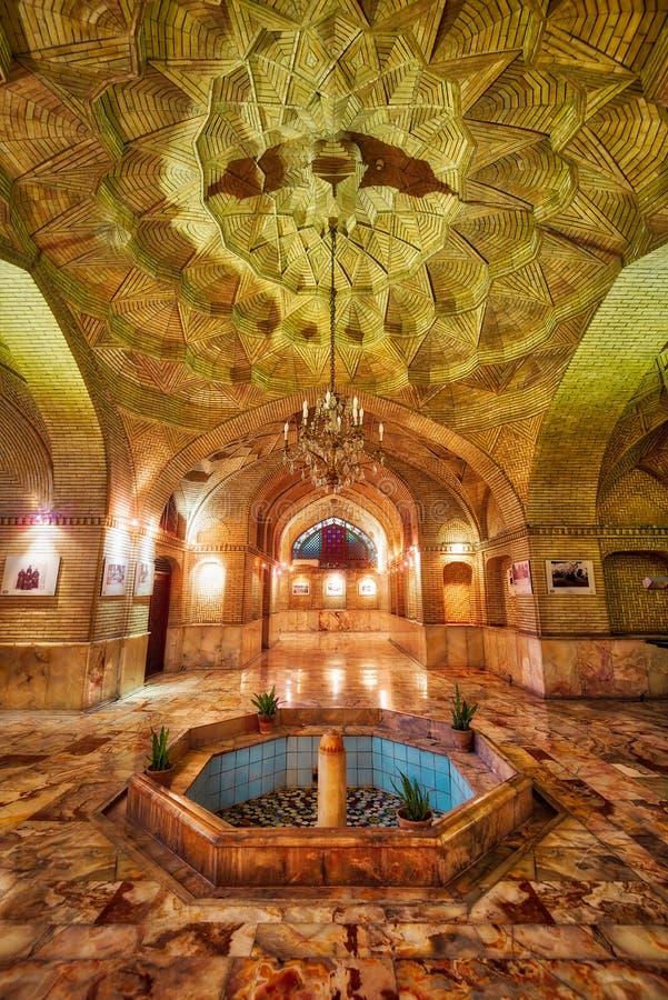 Παλάτι Golestan στην Τεχεράνη, Ιράν, που λαμβάνεται τον Ιανουάριο του 2019 παρμένος στο hdr στοκ εικόνα με δικαίωμα ελεύθερης χρήσης