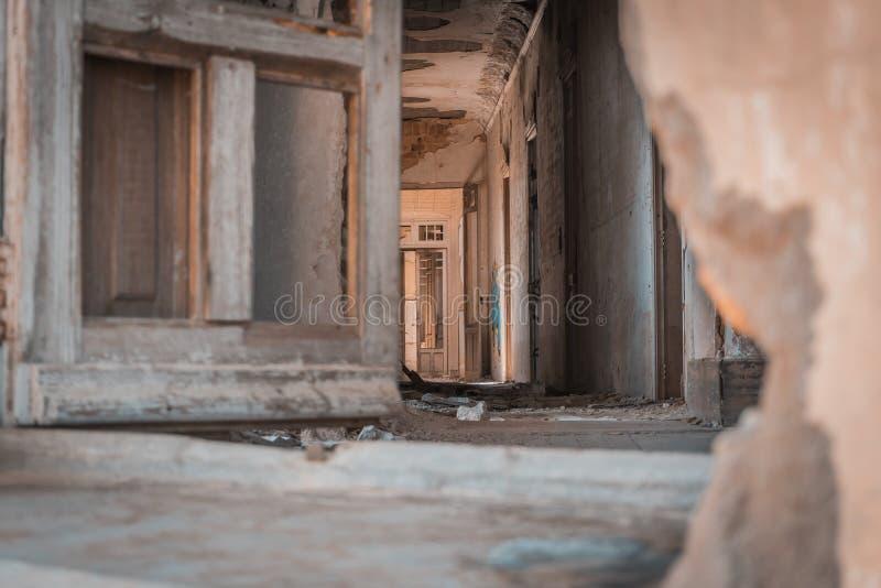Παλάτι Versallesco που εγκαταλείπεται στοκ φωτογραφία με δικαίωμα ελεύθερης χρήσης