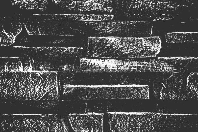 Παλαιά σύσταση τουβλότοιχος κινδύνου Εικόνα υποβάθρου των τούβλων ελεύθερη απεικόνιση δικαιώματος