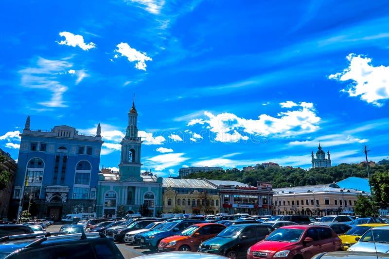 Παλαιά πόλη 01 του Κίεβου στοκ φωτογραφίες