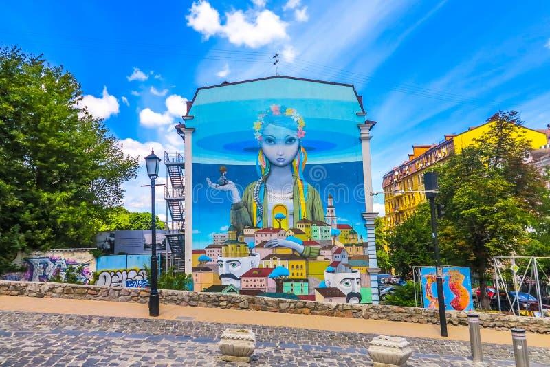 Παλαιά πόλη 03 του Κίεβου στοκ εικόνες