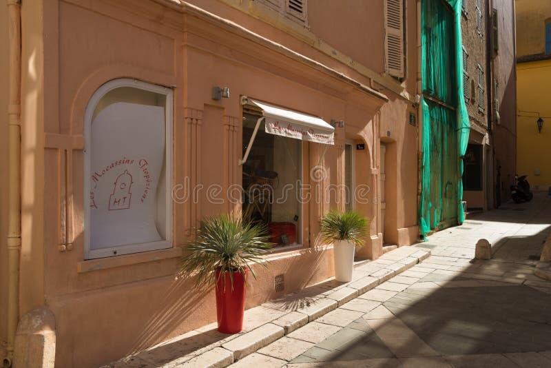 Παλαιά πόλη του ST Tropez στοκ φωτογραφίες με δικαίωμα ελεύθερης χρήσης