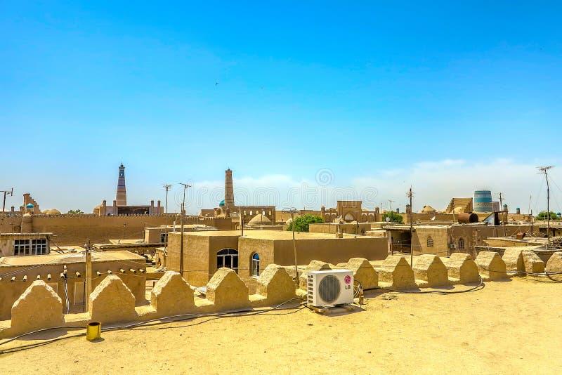 Παλαιά πόλη 06 Khiva στοκ φωτογραφίες με δικαίωμα ελεύθερης χρήσης