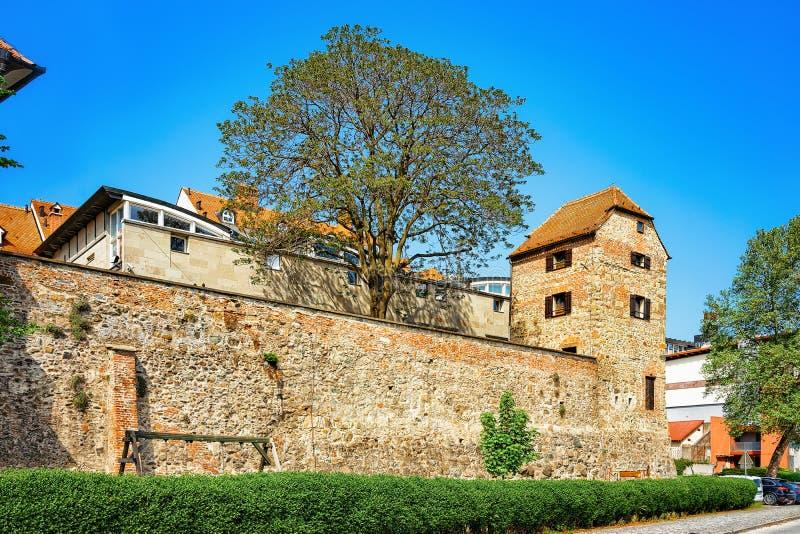 Παλαιός εβραϊκός πύργος σε Maribor, χαμηλότερο Styria, Σλοβενία στοκ εικόνες
