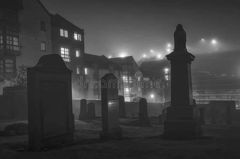 Παλαιό επίγειο νεκροταφείο ενταφιασμών του Carlton στο Εδιμβούργο στοκ εικόνα με δικαίωμα ελεύθερης χρήσης