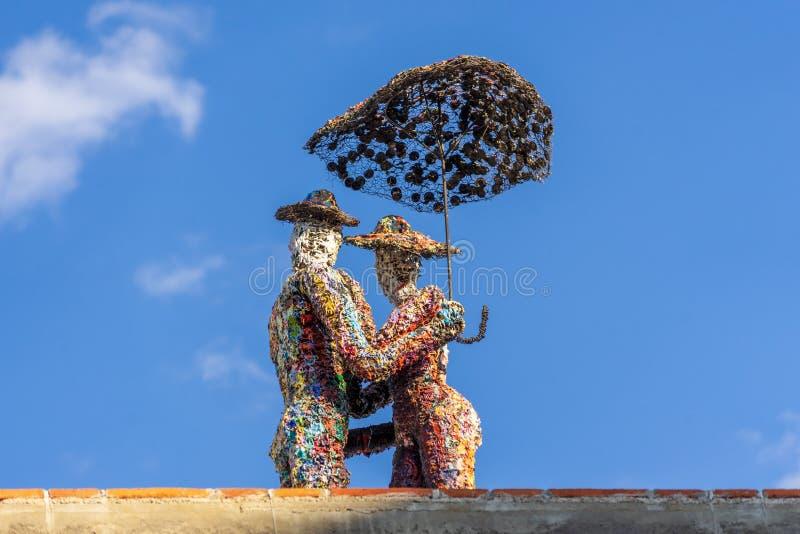Παράδειγμα σύγχρονης τέχνης σε Oaxaca, Μεξικό στοκ εικόνες