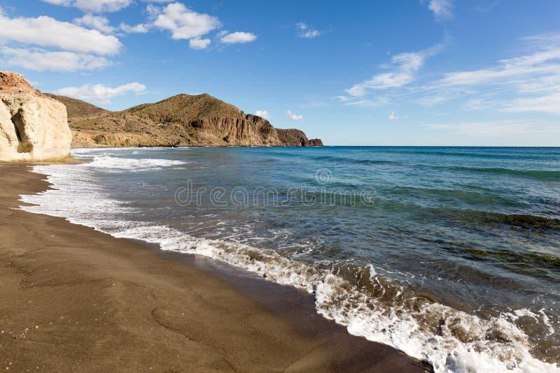 Παραλία σε Λα Isleta del Moro στοκ φωτογραφίες με δικαίωμα ελεύθερης χρήσης