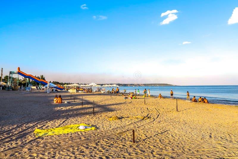 Παραλία 03 της Οδησσός Luzanivka στοκ εικόνες με δικαίωμα ελεύθερης χρήσης