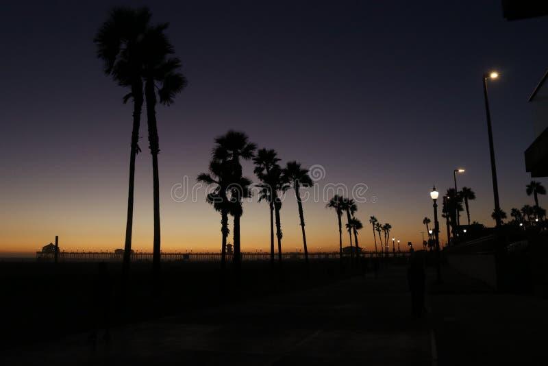 παραλία huntington στοκ εικόνες με δικαίωμα ελεύθερης χρήσης