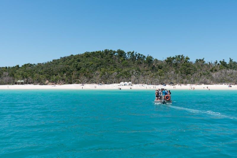 Παραλία Whitehaven, νησί του Χάμιλτον, Αυστραλία στοκ φωτογραφίες