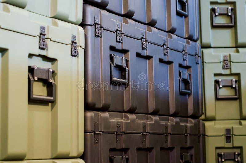 Περίπτωση στην αποθήκη εμπορευμάτων στοκ εικόνες με δικαίωμα ελεύθερης χρήσης