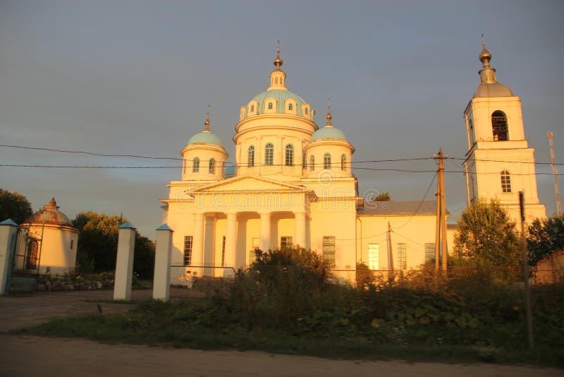 Περιοχή Yaroslavl, pereslavl-Zalessky, Ρωσία 16 Ιουλίου 2016: Εκκλησία της καθόδου του ιερού πνεύματος στο νέο στοκ εικόνες με δικαίωμα ελεύθερης χρήσης
