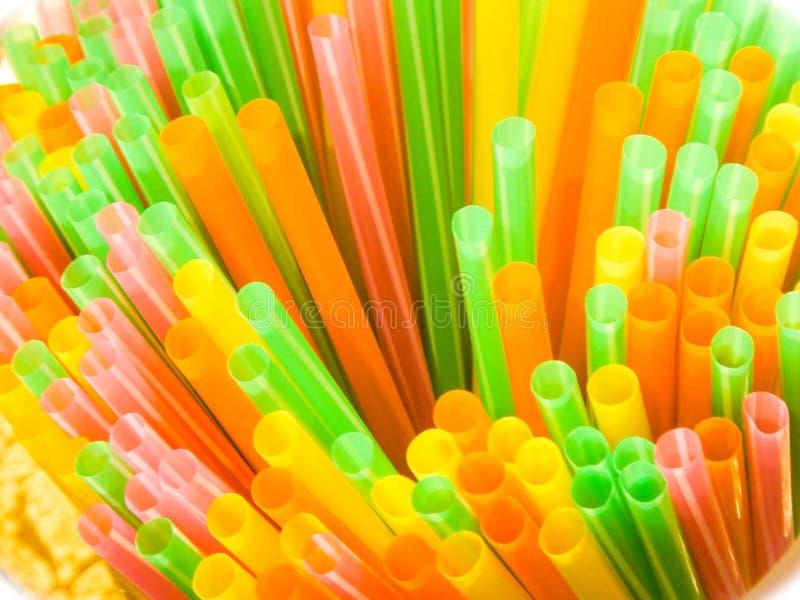 Πλαστική απαγόρευση αχύρου! Πέστε το αριθ. στο πλαστικό! στοκ εικόνες με δικαίωμα ελεύθερης χρήσης