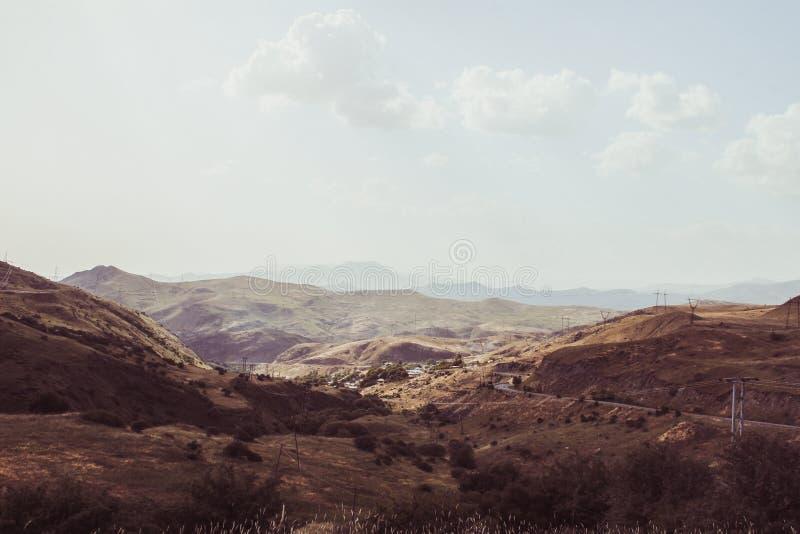 Πορτοκαλιά κοιλάδα στα βουνά της Αρμενίας στοκ φωτογραφία με δικαίωμα ελεύθερης χρήσης