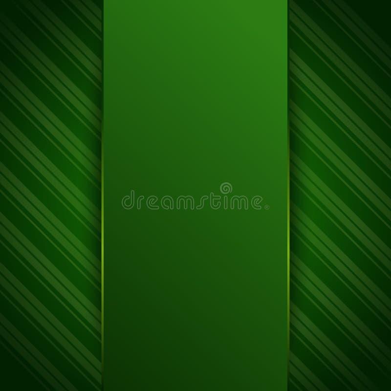 Πράσινο κενό, πρότυπο, υπόβαθρο για το σχέδιό σας ελεύθερη απεικόνιση δικαιώματος