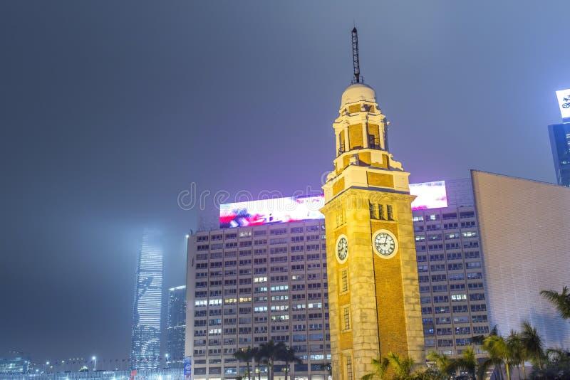 Πύργος κουδουνιών στο Χονγκ Κονγκ στοκ εικόνα με δικαίωμα ελεύθερης χρήσης