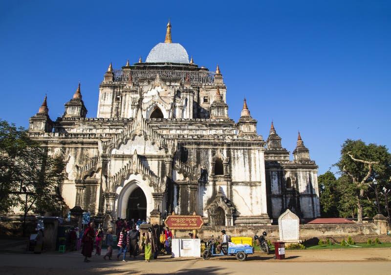 Πύργος του BO Dabie Newford σε pugan, Myanmar στοκ εικόνες