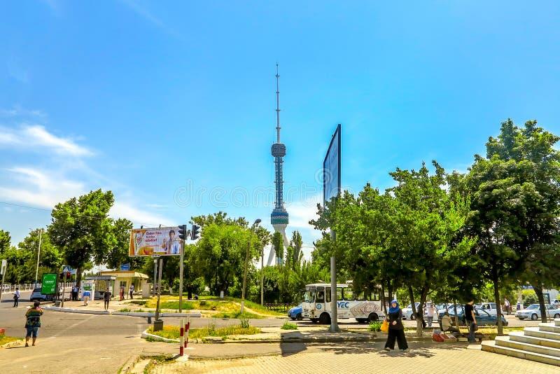 Πύργος TV της Τασκένδης στοκ εικόνες