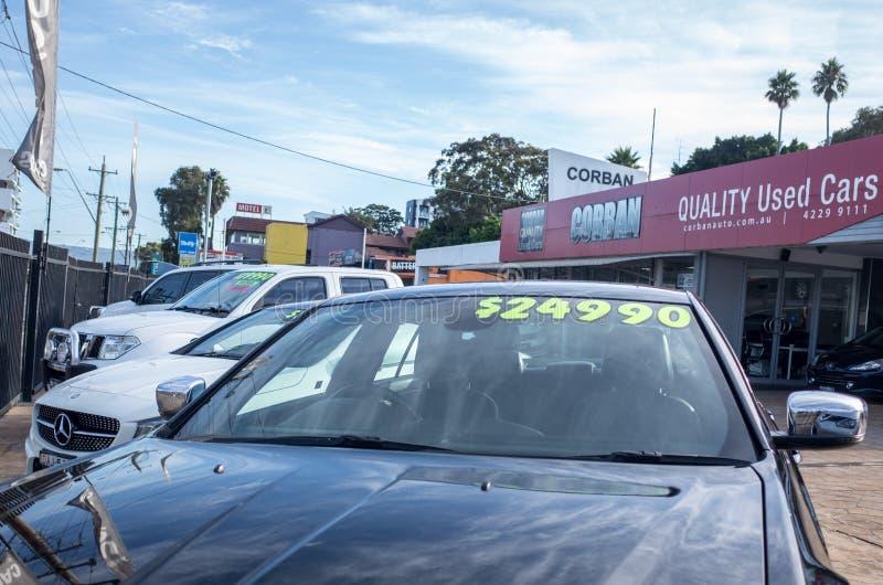 πώληση αυτοκινήτων χρησιμοποιούμενη στοκ φωτογραφίες