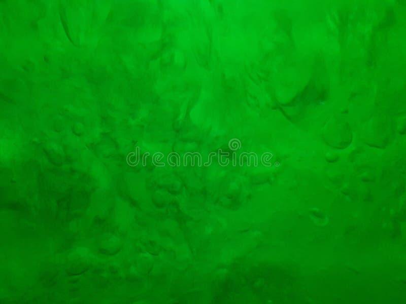 Πτώσεις νερού βρασίματος με τις σκιές πράσινου, σύσταση στοκ φωτογραφία με δικαίωμα ελεύθερης χρήσης