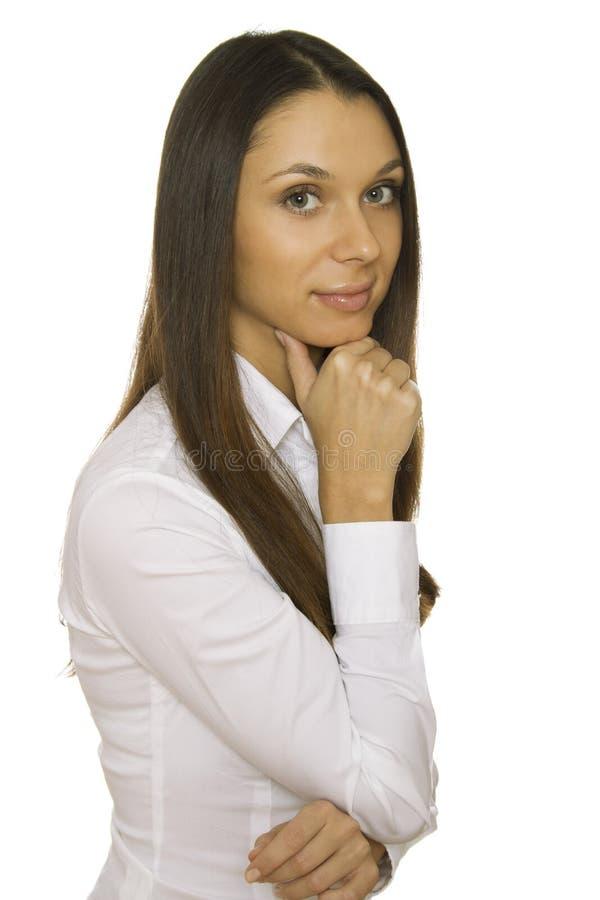 Ð¡onfident young businesswoman stock photos
