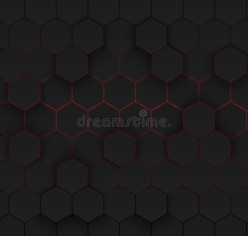 абстрактная имеющаяся предпосылка eps8 форматирует шестиугольное JPEG иллюстрация штока