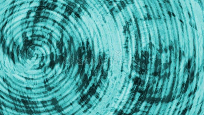 абстрактная спираль сини предпосылки стоковое фото