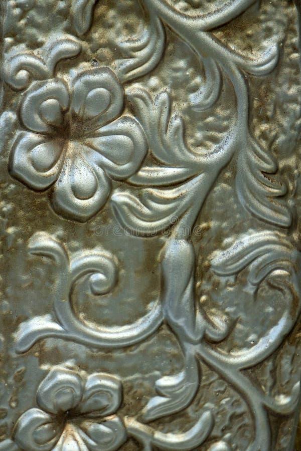 Абстрактная стильная текстура выбивает щетку сплава алюминиевую стоковое фото
