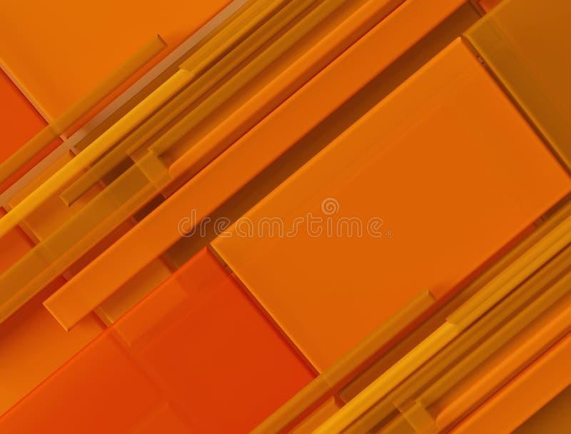 Абстрактная художественная предпосылка - прокладки цвета иллюстрация штока